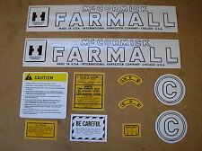 IH / McCORMIC / FARMALL / C  / NEW / DECAL SET / FOR TRACTORS / # 18-12-170