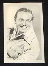 Johnny Johnston 1940's 1950's Actor's Penny Arcade Photo Card
