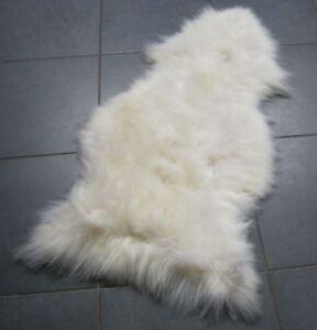 GENUINE 100% SHEEPSKIN RUG - SUPER SOFT WOOL- LARGE
