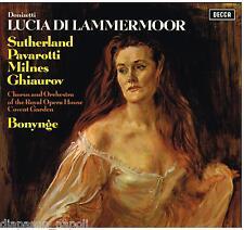 Donizetti: Lucia Di Lammermoor / Sutherland, Pavarotti, Ghiaurov, Milnes - LP