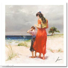 "PINO ""BEACH WALK' NUMBERED/HAND SIGNED GICLEE W/COA"