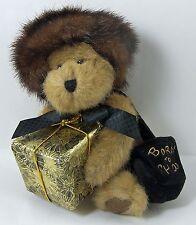 "Ivanna Spendalot Plush Bear from Boyds Bears #903401 Born to Shop Handbag 8"""