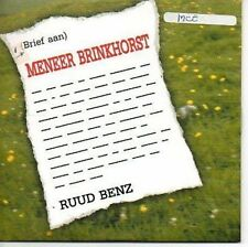 (AR463) Ruud Benz, Meneer Brinkhorst - DJ CD