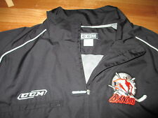 CCM NEW JERSEY BANDITS Embroidered Nylon Zippered (MED) Jacket