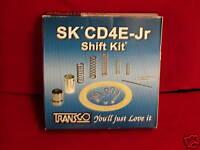 TRANSGO CD4E JR JUNIOR TRANSMISSION SHIFT KIT 1994-UP