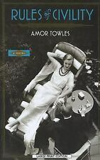 Rules Of Civility, , Towles, Amor, Good, 2012-08-07,