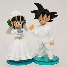 Dragon Ball Z Son Goku & ChiChi Figure For Wedding Cake Topper Bridal Decoration
