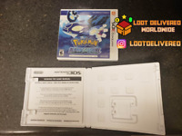 Pokemon Alpha Sapphire Replacement Case | Pokemon Display Box NO GAME
