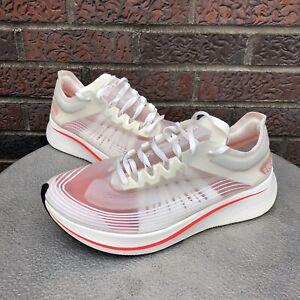 Nike Zoom Fly Running Race Shoes Sneakers Mens 11 SP White Orange Sail AJ8229106