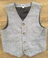 EUC Janie And Jack  BOYS Size 7 Blue Suit Vest