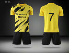 Soccer Uniforms: $21 each Jersey with numbers, Sponsors+Shorts+Socks