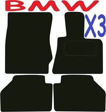 BMW X3 a medida Alfombrillas De Coche ** ** Calidad De Lujo 2017 2016 2015 2014 2013 2012 2011
