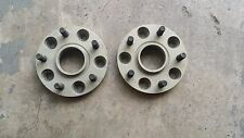 RUF PORSCHE WHEEL SPACERS 21MM WITH PRESS-IN-BOLT HUB CENTRIC FOR PORSCHE