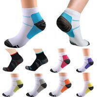 Men/Women Compression Socks Arch Ankle Running Sports Support Plantar Fasciitis