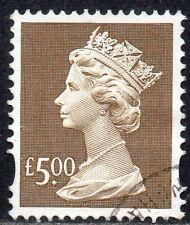 2003 Sg Y1749 £5.00 azure (2 bands) Fine Used