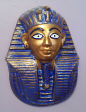 Egyptian king toutankhamon masque mortuaire plaque murale hiéroglyphes handmade
