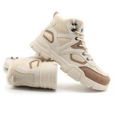 Lace Up Men Shoes Size 39-46 Leather Boots Shoes Warm Plush Sneakers Big Size