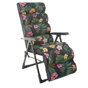 Klappsessel Campingsessel Gartenliege verstellbar Relaxstessel Balkonsessel