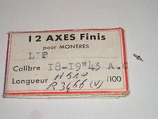 Lip 43AC (ht. 510) axe de balancier  balance staff  Unruhwelle ( ronda 3466 )
