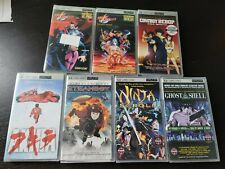 NEW UMD Video Anime Lot of 7 Night Warriors, Ghost in the Shell, Cowboy Bebop +