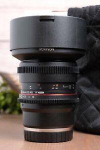 Rokinon 14mm T3.1 Full Frame Ultra Wide Angle Lens (Sony E-Mount)