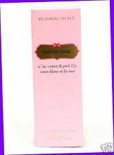 1 Victoria's Secret SHEER LOVE Eau De Toilette Body Spray Mist
