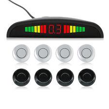 Car Sensor Backup Reverse Rear View Radar Alert Alarm System Black or Sliver
