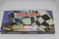 1997 NASCAR Monopoly Official Collector's Edition Board Game-New Factory Sealed