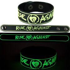 Rise Against New! Bracelet Wristband gg129 Glow in the Dark/Endgame
