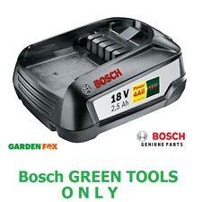 SALE - Bosch GREENTOOL 18V 2.5AH Lithium ION Battery 1600A005B0 3165140821629 D2