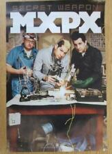 MXPX SECRET WEAPON 2007 ORIGINAL PROMO POSTER PUNK