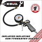 X-bull Tyre/Tire Pressure gun Car Tire Air Inflator Pump Hose Gauge Compressor