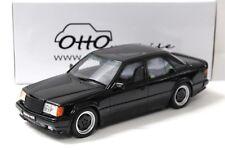 1:18 OTTO Mercedes 300E 5.6 AMG W124 black 1987 NEW bei PREMIUM-MODELCARS