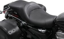 Danny Gray LowIST 2-Up Seat Leather Black #FA-DGE-0294 Harley Davidson Sportster