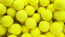 Bright Yellow Sweetcorn flavour Fluoro Pop-ups Fishing Bait 15mm Carp Bait