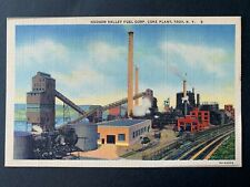 Postcard Troy NY - Hudson Valley Fuel Corp Coke Plant