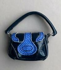 """Navy """"Patent & Leather"""" Bag For 12"""" Fashion Royalty, Silkstone~No Doll"""