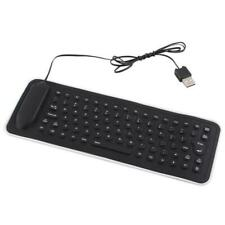 Portable Mini Flexible USB Silicone PC Keyboard Foldable for Laptop Notebook