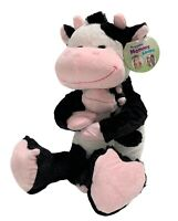 Cow Huggable Mommy & Baby 24 Inch Stuffed Plush Toy NWT