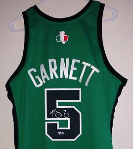 "Kevin Garnett HOF Celtics ""Rome"" Signed Mitchell & Ness NBA Auto Jersey FANATICS"