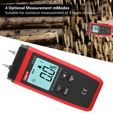 UNI-T UT377A Digital Wood Moisture Meter Tester Hygrometer Humidity Detector IDM