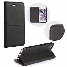 Xiaomi Redmi 4A - URBAN Book Case Schutz Hülle Handy Tasche Cover Etui Schwarz