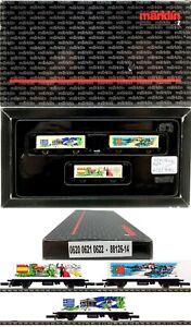 Marklin Z Scale 88126-14 M/M 0620-0621-0622  3 Container Car Set Original Box C9