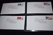 Lot of 59 Flags of Our Nation - First Day of Issue Stamps - June 2008 - Aug 2011