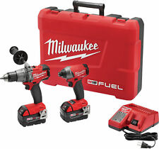 Milwaukee 2897-22 M18 Fuel 2-tool Combo Kit - Hammer Drill / Impact Driver Combo