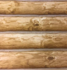 "Log Wallpaper SAMPLE 14"" x 27"""