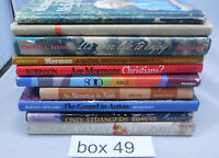 20 LDS Books mostly non-fiction hardbacks Box #49 Mormon
