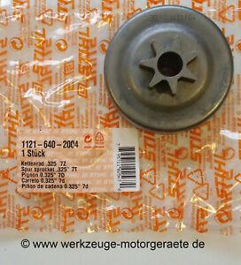 """Stihl Kettenrad .325"""" 7Z. 1121 640 2004, für 026/260/270/280"""