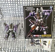 TransFormers SkyWarp MP-11SW Masterpiece Seeker Jet 25th MInt in Box G1 POTP HTF