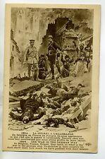 MILITARIA 469 REGAMEY Illustrat Massacres La Guere à l'Allemande